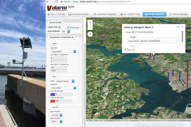 如何使用洪水预警系统和工业物联网传感器监测水位