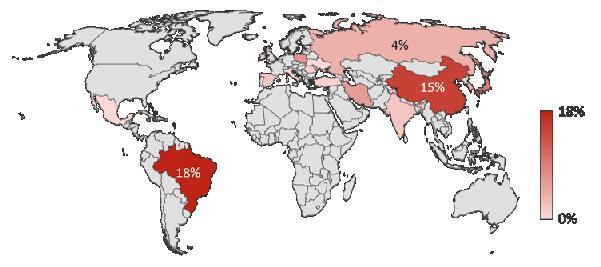 十大攻击源国家
