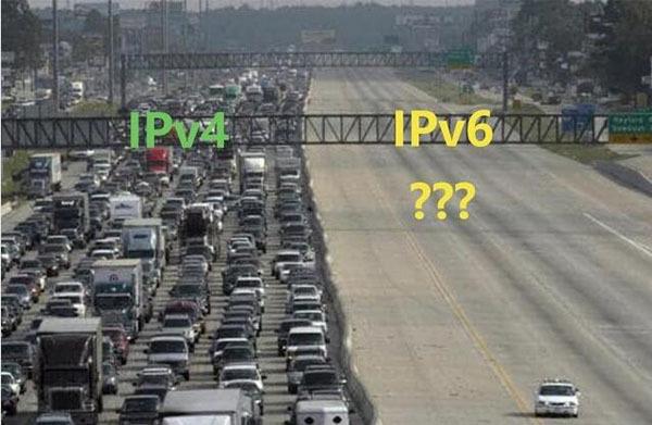 IPv6有路不走