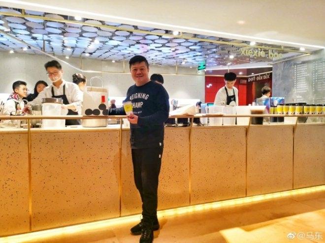 """从《奇葩说》到""""谢谢茶"""" 马东首个餐饮店开在三里屯太古里.jpg"""