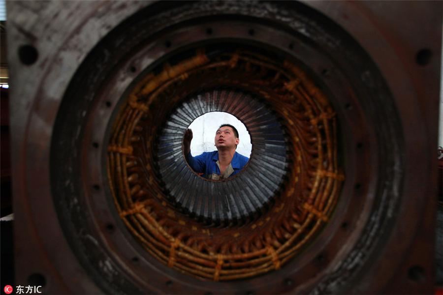 电机,生产,制造,工厂,中国制造2025,工业4.0