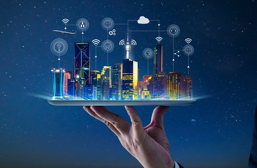 风景 智慧城市,智慧城市,数字鸿沟,人工智能