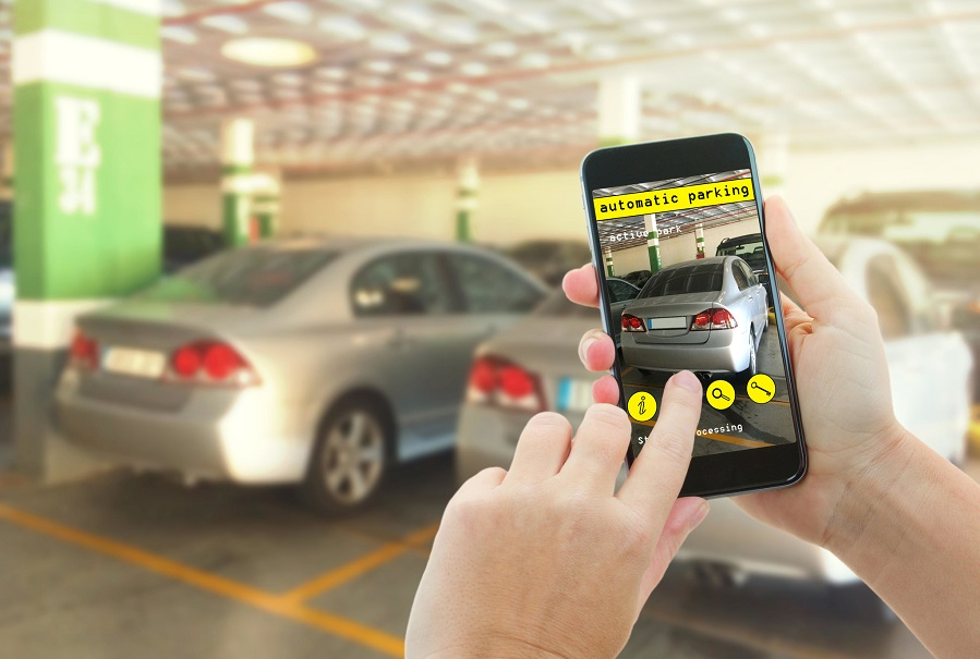 停车 手机,智慧停车,静态交通,AI,5G