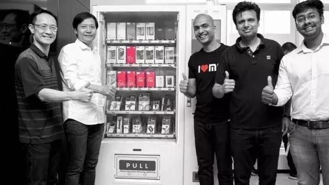 新零售快訊:小米在印度推出了智能手機自動售貨機