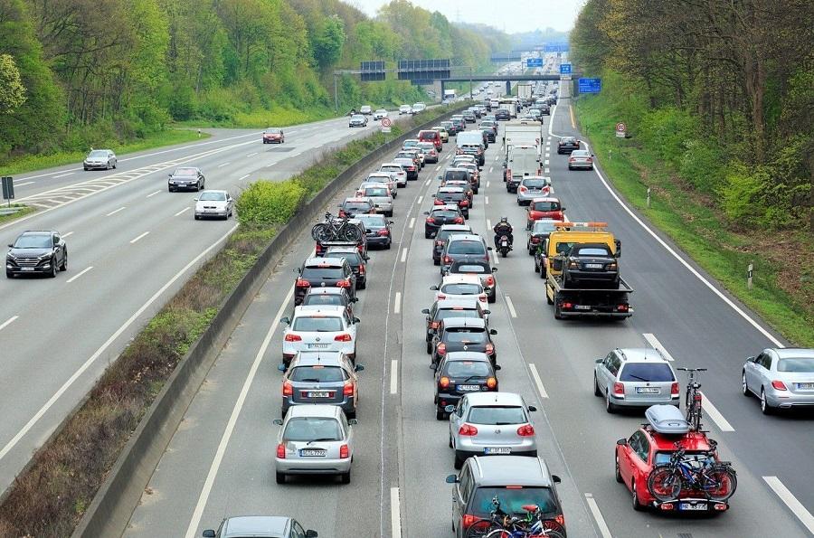 堵車 交通,智慧交通,5G,車聯網