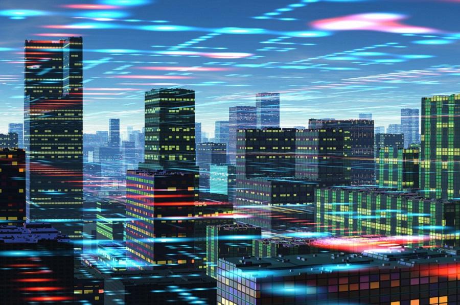 行业 智慧城市,智慧城市,智慧安防,AIoT智联网