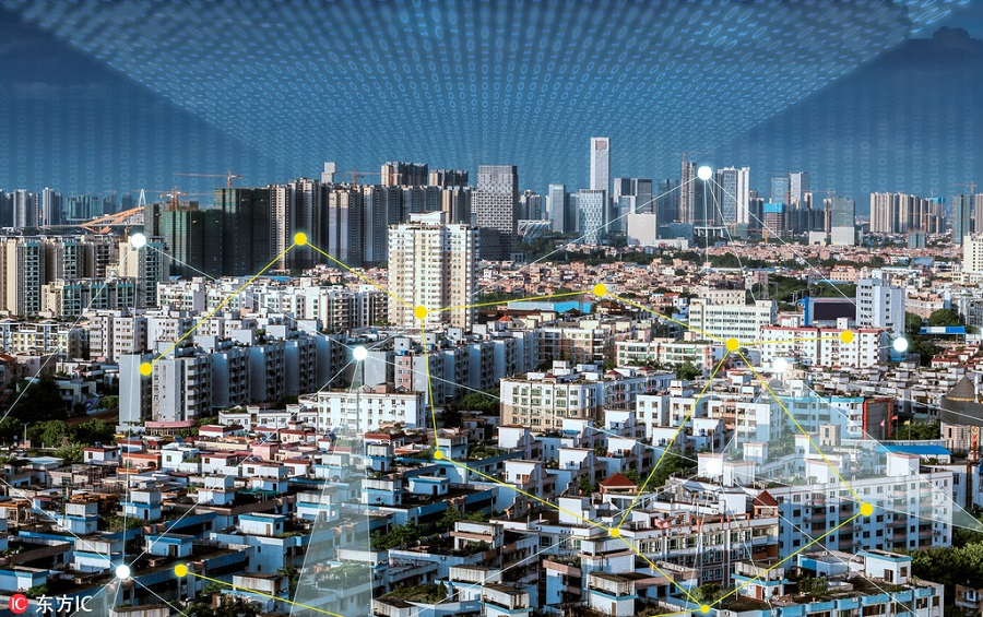 風景 智慧城市,大數據,智慧城市,智慧安防,智慧政務,智慧城管