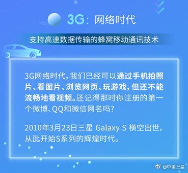 从1G到5G,三星官方回顾网络历史发展