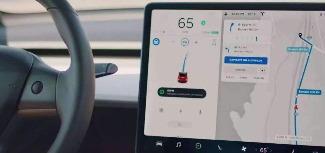 开启了「Navigate on Autopilot」功能的特斯拉车型能够实现自主变道 | Teslarati