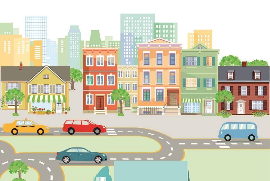 社区 建筑 城市,智慧城市,智慧社区