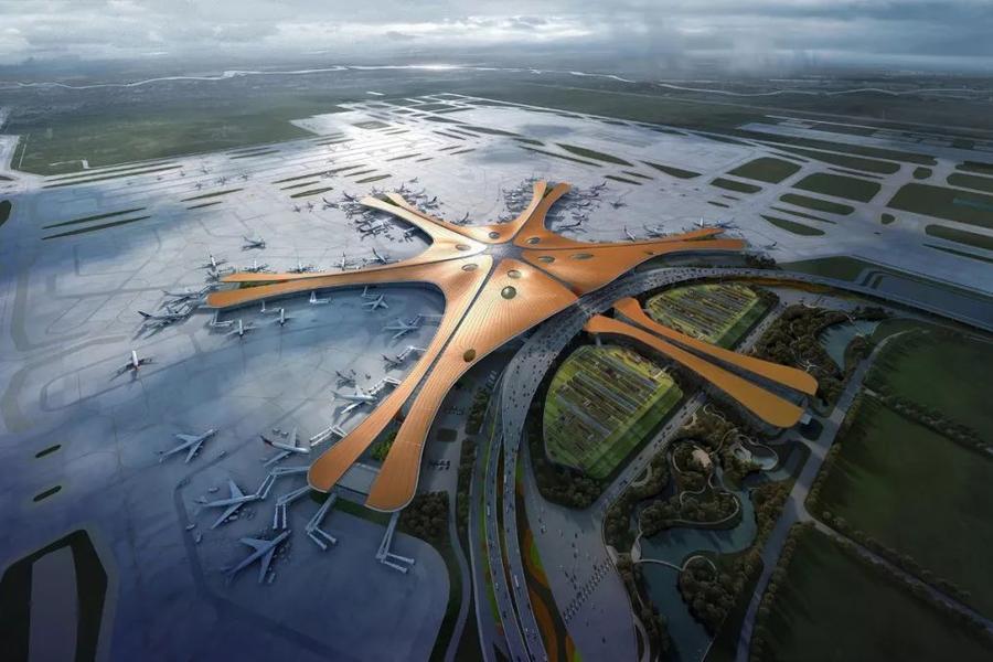 大型机场,大兴机场,5G,人脸识别,智慧机场
