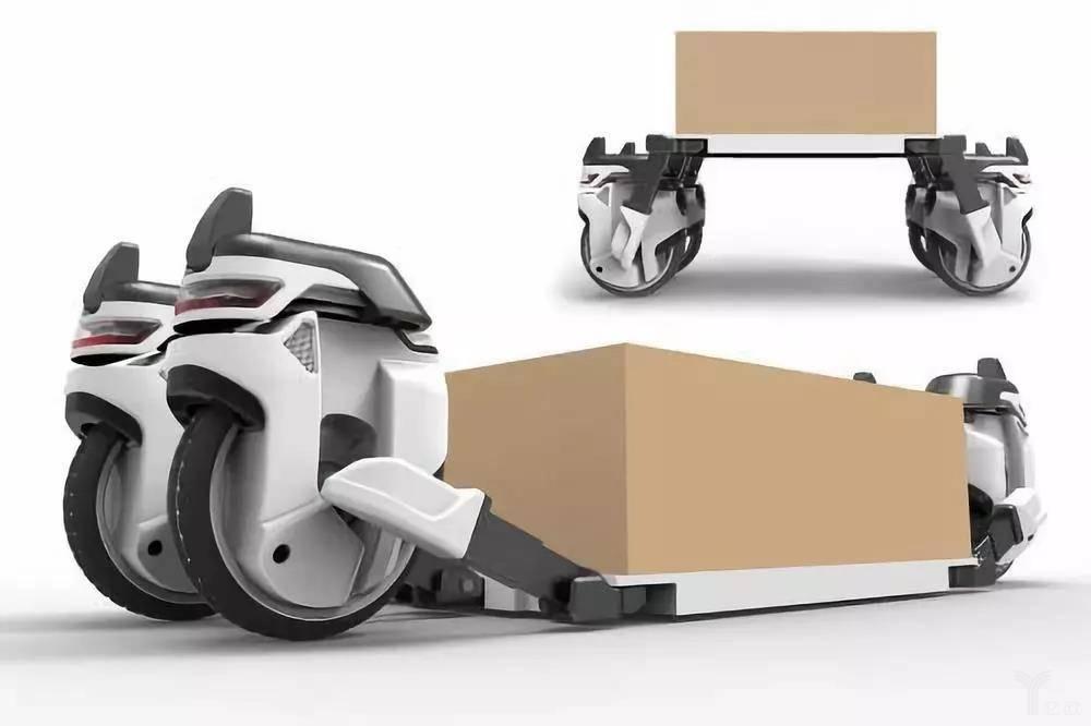 Transwheel機器人