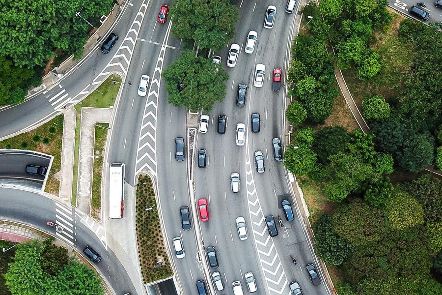 交通 馬路 車,人臉識別,交通監管,智慧交通