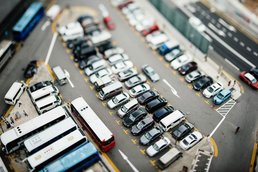 智慧停车 停车场,5G,微波雷达探测,计算机识别