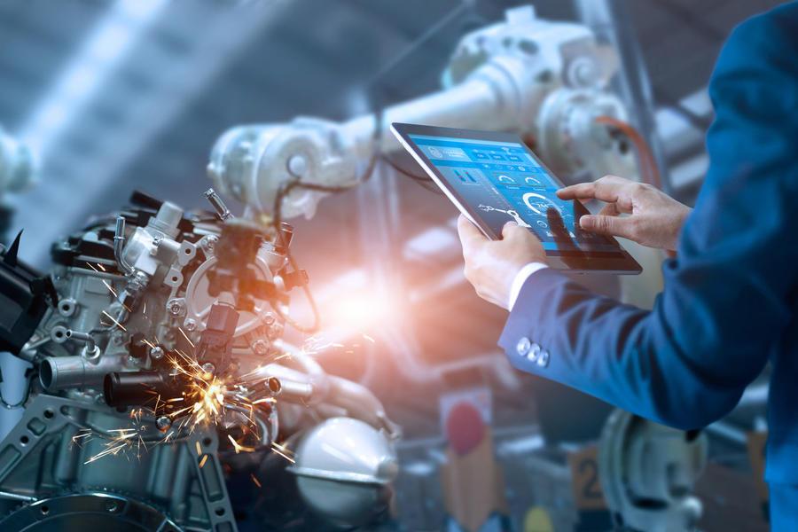 工业,工业4.0,自动化,数字化,区块链