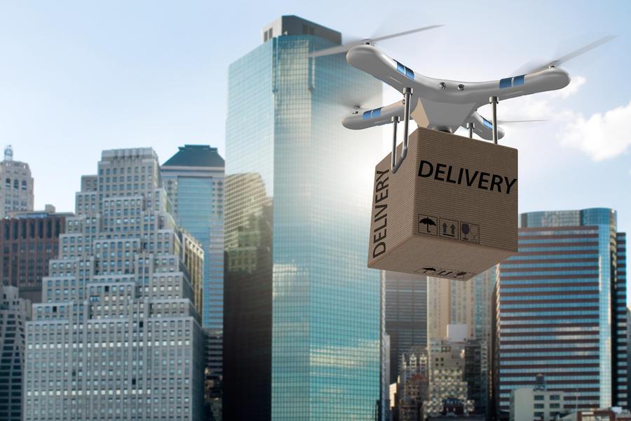 無人機 物流科技,無人機送貨,外賣,商用
