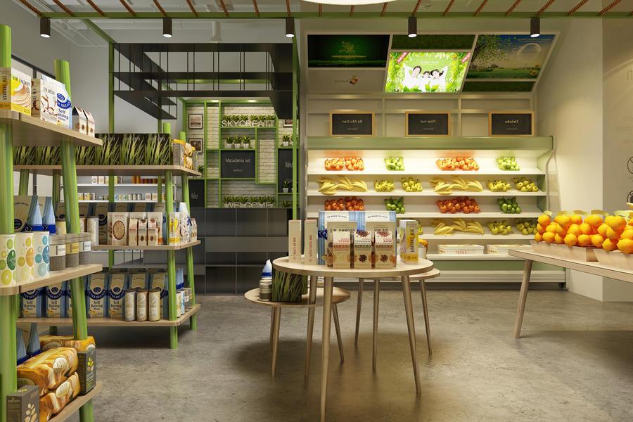零售、水果、超市,无人零售,生鲜,智能取餐,数字化,互联网医疗