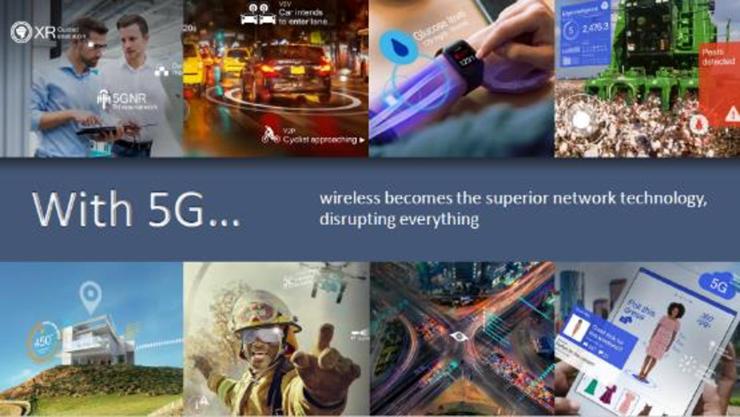 5G正在加速部署,高通如何勾勒未来?