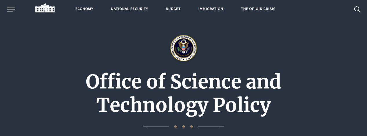 美国白宫科技政策办公室