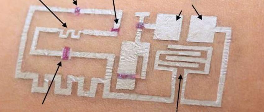 """""""神笔马良""""现身?皮肤上画个电路图就能监测健康"""