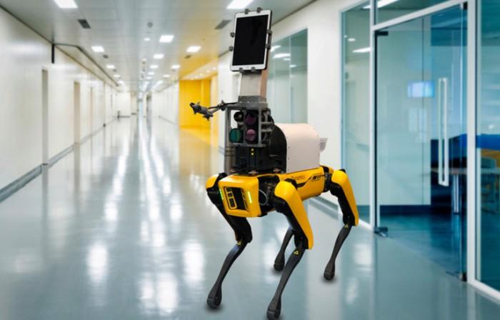 半自主机器人在对抗新冠大流行中的潜在作用如何?