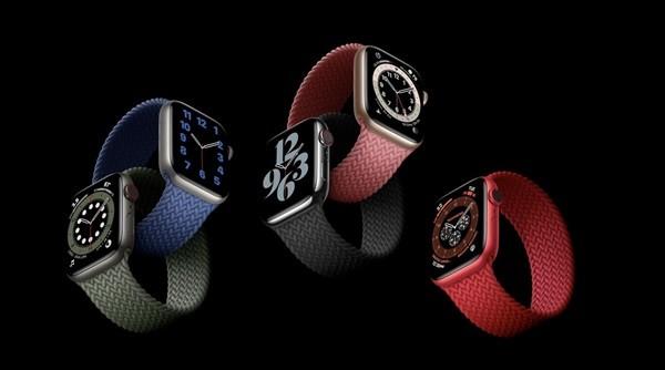苹果 Apple Watch Series 6 配备 U1 超宽频芯片