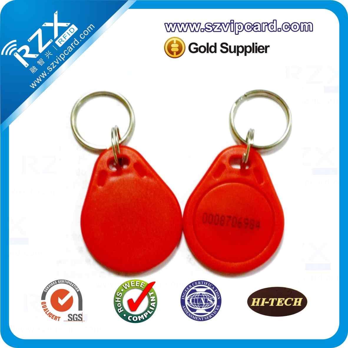 TK4100低频钥匙扣卡