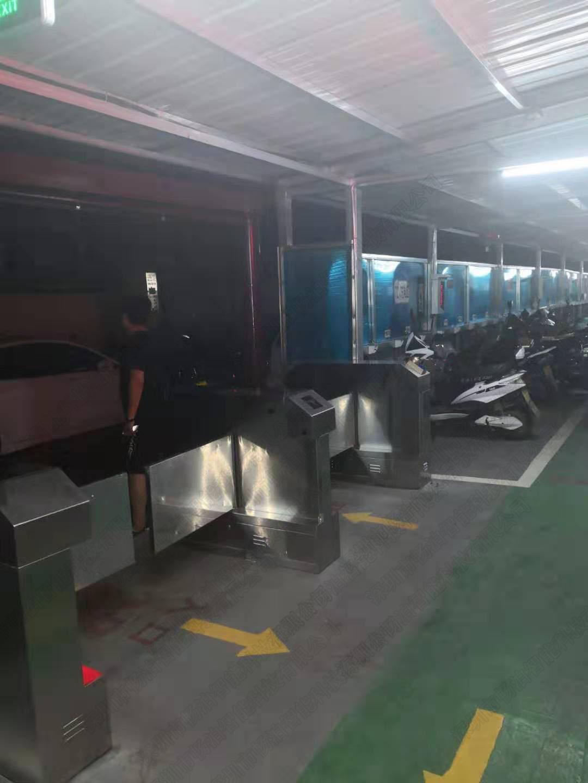 电动车车棚出入口免刷卡系统