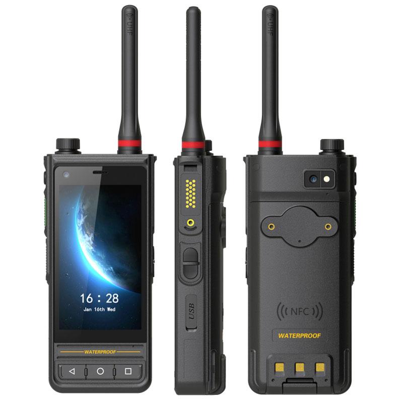豪盾4寸六核安卓北斗DMR对讲中国产芯片1.4G 1.8G专网手机专网对讲手机