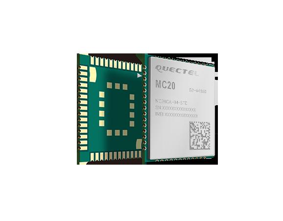 移远2G无线通信模块GPRS/GPS北斗/蓝牙通信模组MC20
