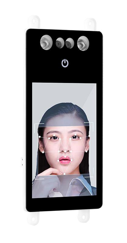 半自动人脸识别锁模组4.0屏