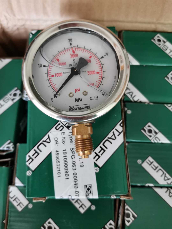 西德福压力表SPG063-00250-01-P-B04