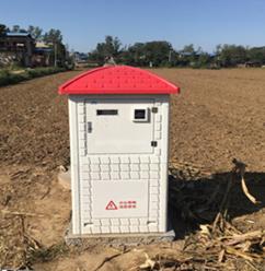 支持水电双计的高效节水灌溉玻璃钢智能井房