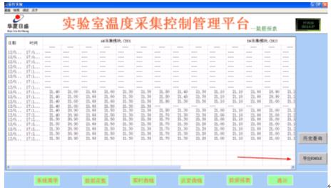 空气场温度监控系统