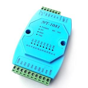开关量转以太网,以太网转开关量NT-1081