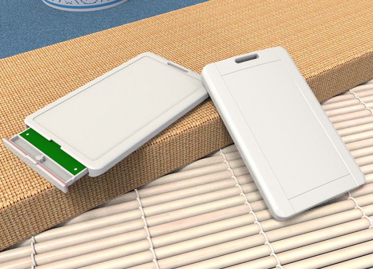 学生考勤 远距离无感考勤标签 半有源2.4g125k13.56M三频 双频卡