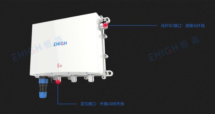 EHIGH恒高UWB定位基站產品集合