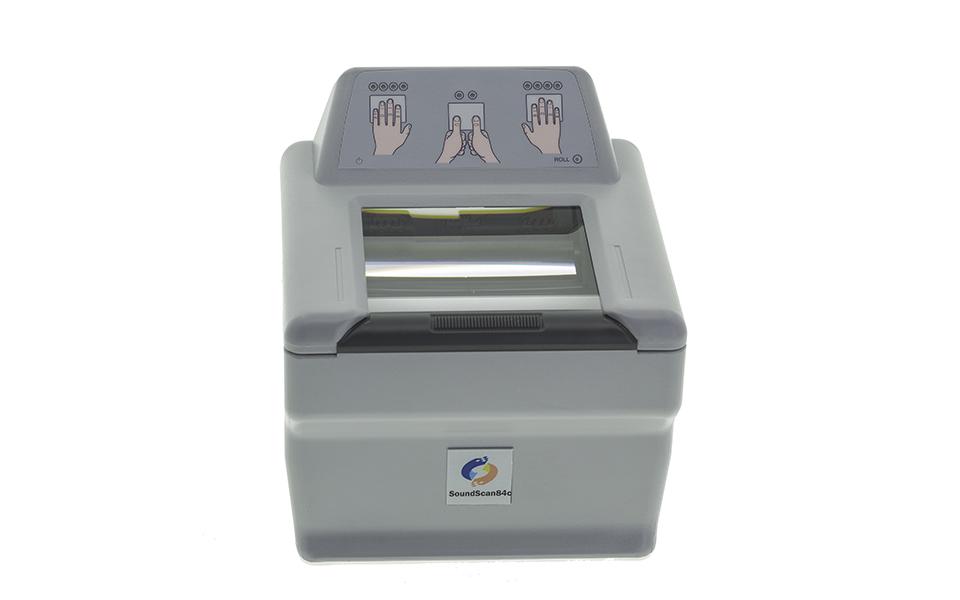 采集四连指指纹-竖顶版SoundScan84c