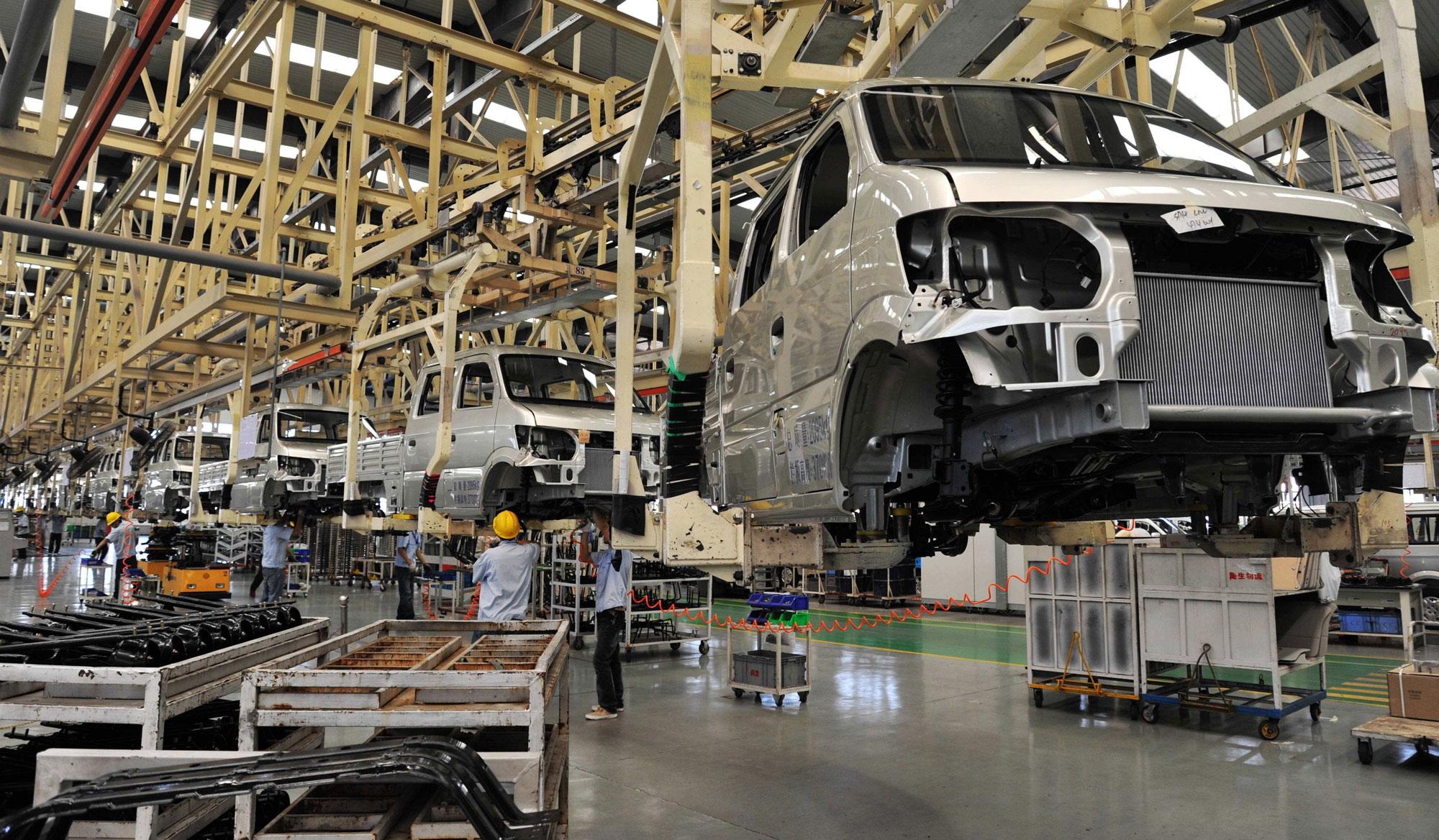 湖南某品牌汽车总装车间检测线实现RFID技术自动化改造案例