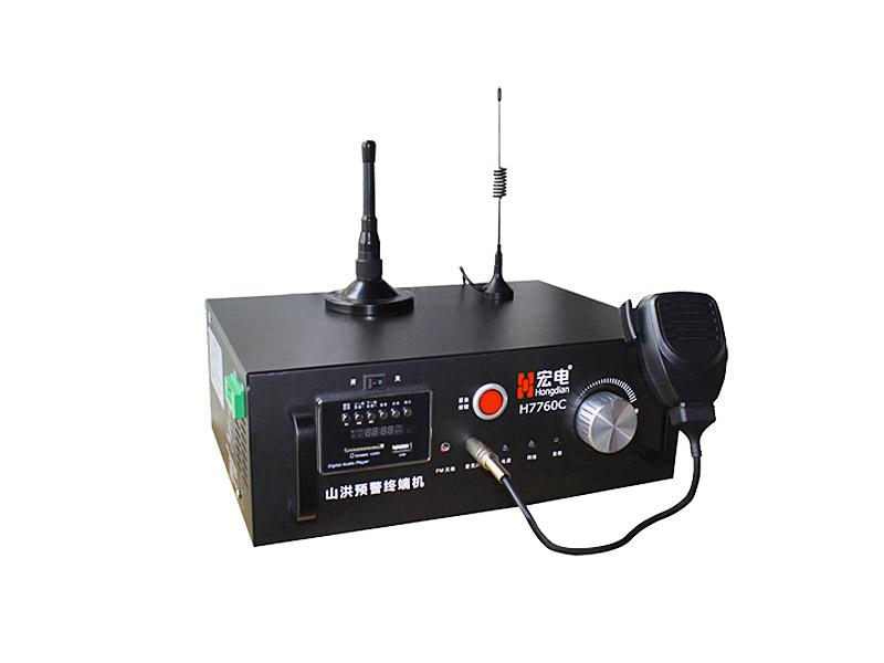 宏电H7760C型无线预警终端机